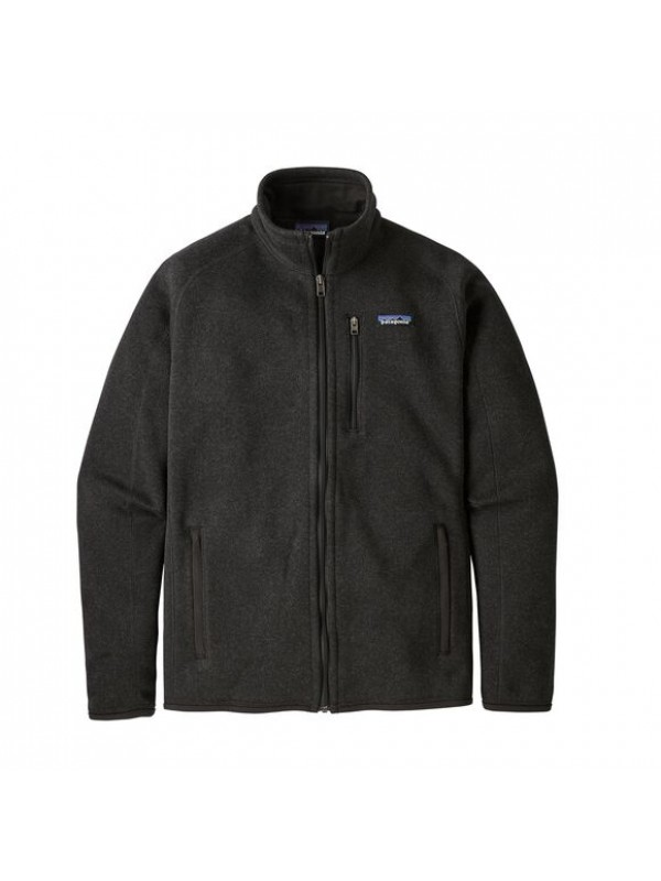 Patagonia Men's Better Sweater Fleece Jacket : Black