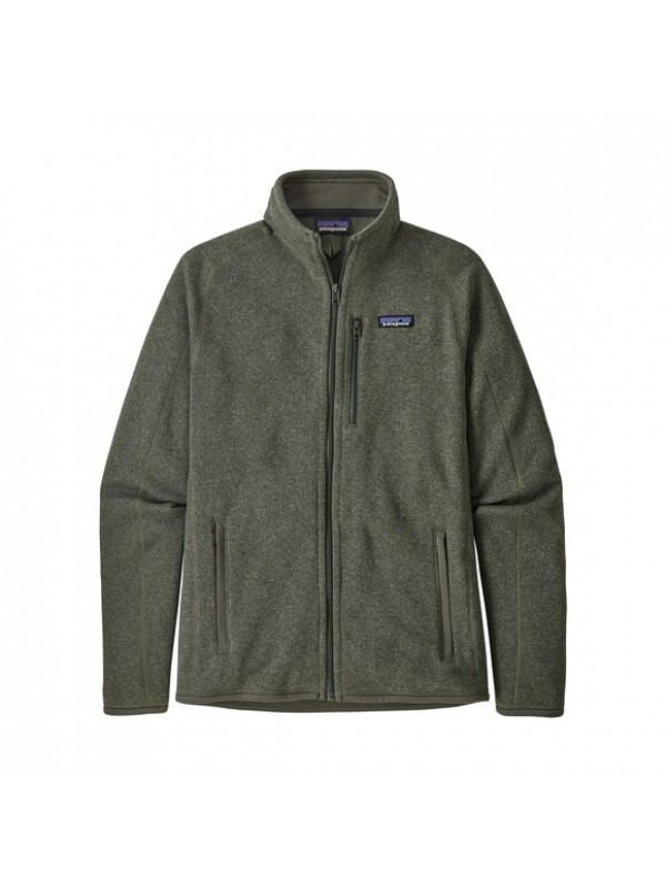 Patagonia Men's Better Sweater Fleece Jacket : Industrial Green