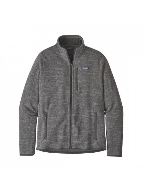 Patagonia Men's Better Sweater Fleece Jacket : Nickel