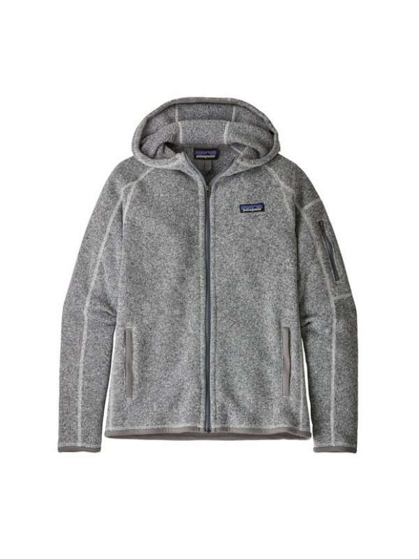 Patagonia Women's Better Sweater Fleece Hoody : Birch White