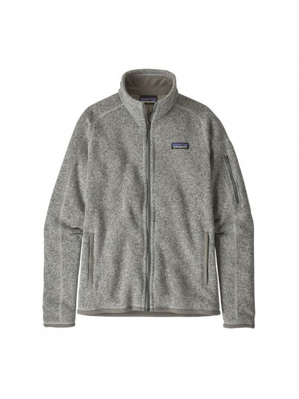 Patagonia Women's Better Sweater Fleece Jacket : Birch White
