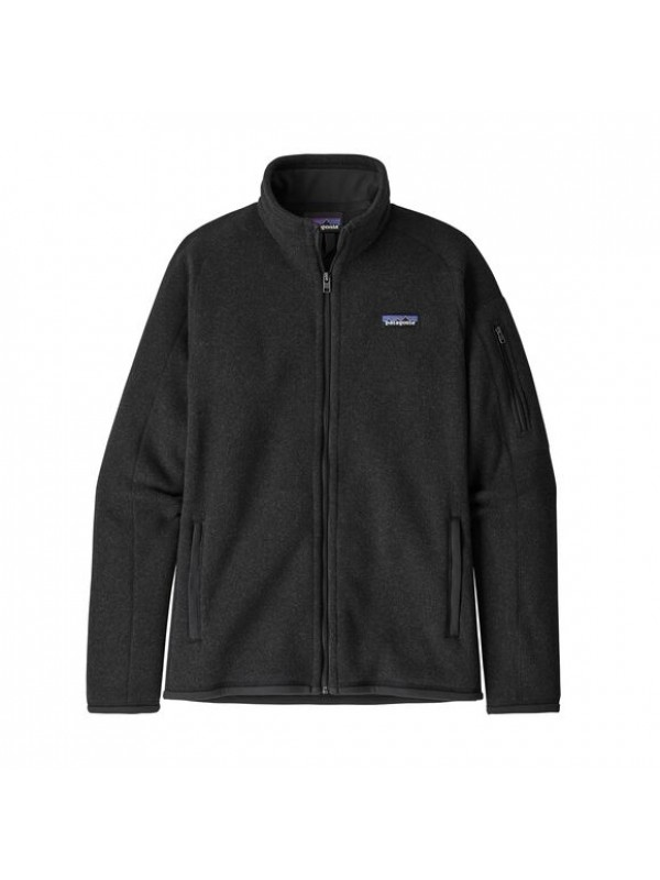 Patagonia Women's Better Sweater Fleece Jacket : Black