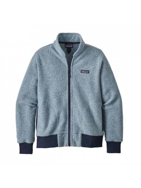 Patagonia Women's Woolyester Fleece Jacket : Big Sky Blue