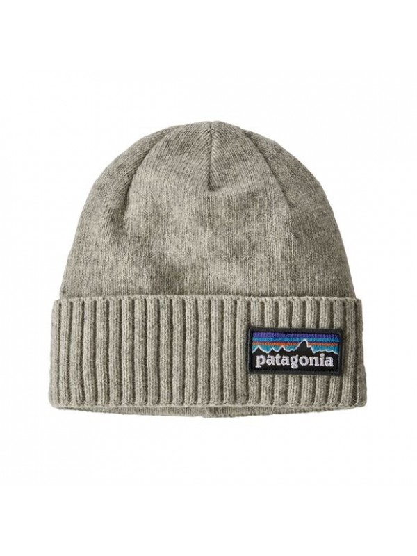 Patagonia Brodeo Beanie : P-6 Drifter Grey
