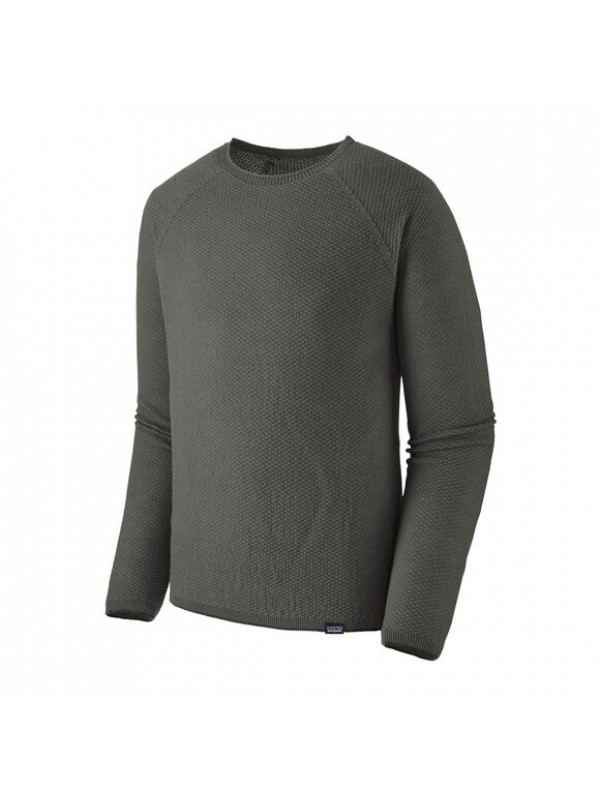 Patagonia Mens Capilene Air Crew : Forge Grey - Feather Grey x Dye