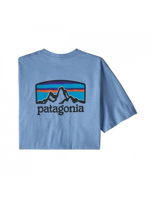 Patagonia Men's Fitz Roy Horizons Responsibili-Tee : Wilder Blue