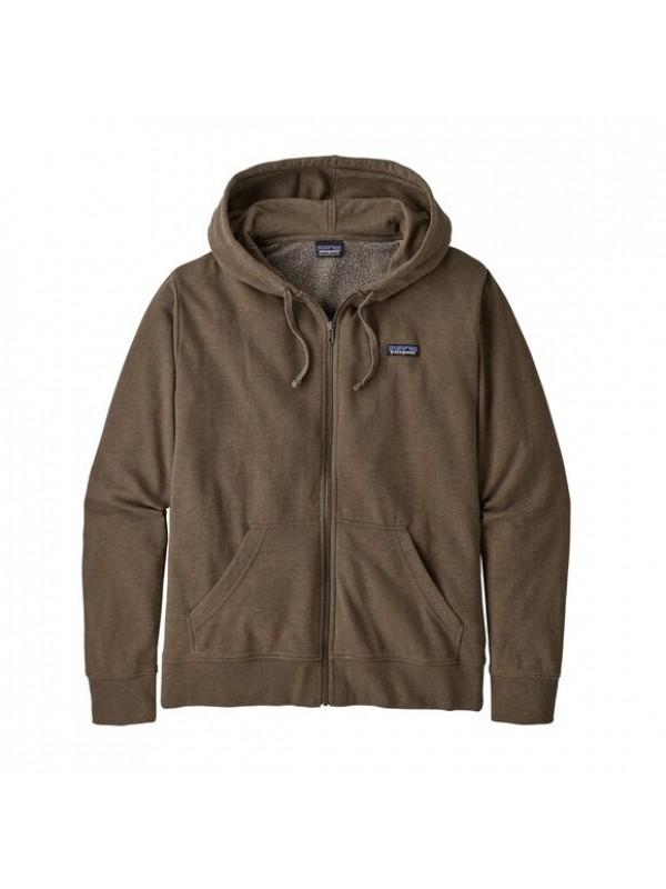 Patagonia Men's P-6 Label Lightweight Full-Zip Hoody : Bristle Brown