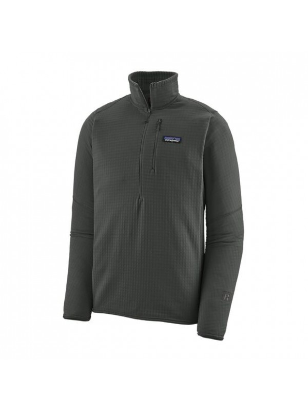 Patagonia Men's R1® Fleece Pullover : Forge Grey
