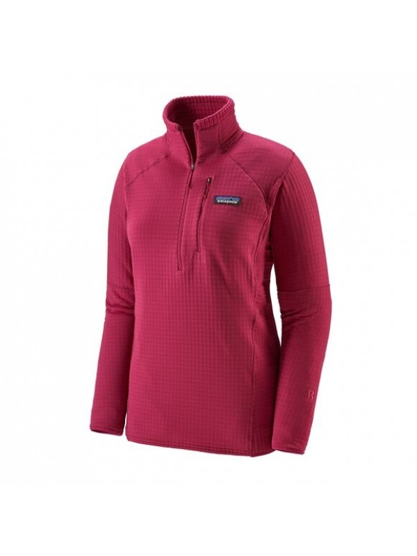 Patagonia Women's R1 Fleece Pullover : Craft Pink