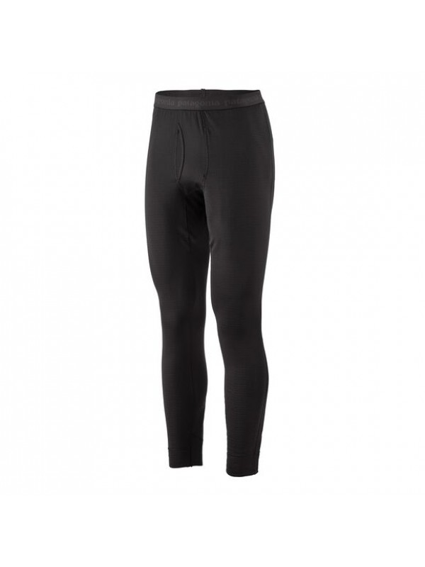 Patagonia Mens Capilene Thermal Weight Bottoms : Black
