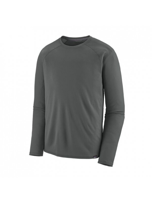 Patagonia Men's Capilene Midweight Crew : Forge Grey