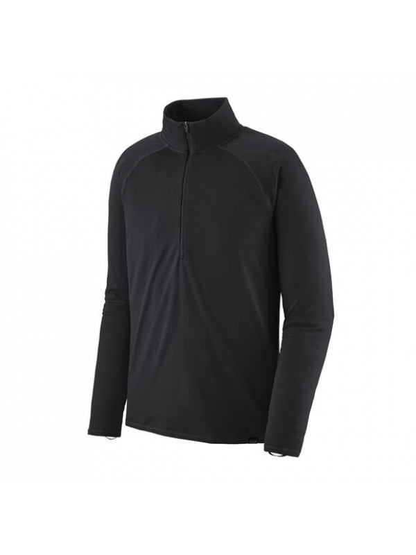 Patagonia Men's Capilene Midweight Zip-Neck : Black