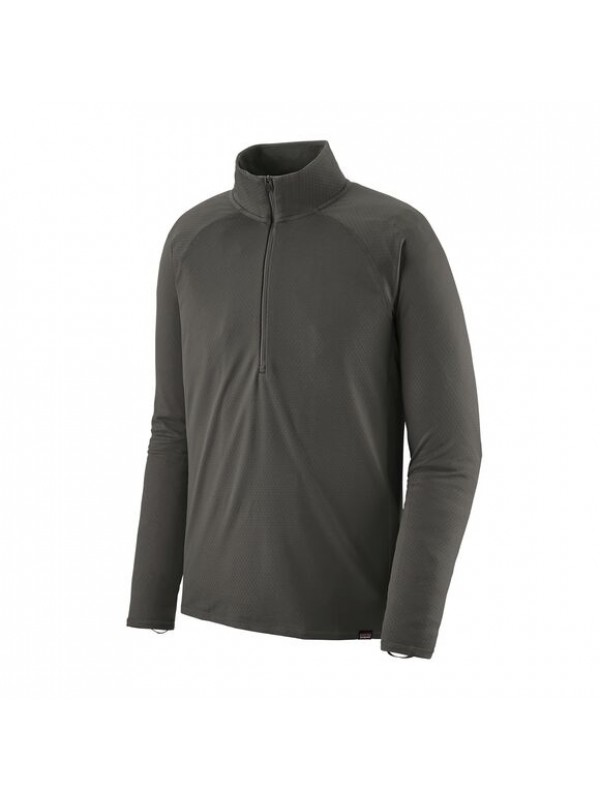 Patagonia Men's Capilene Midweight Zip-Neck : Forge Grey