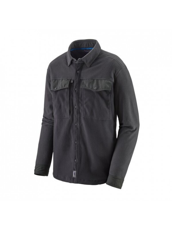 Patagonia Men's Long-Sleeved Early Rise Snap Shirt : Ink Black