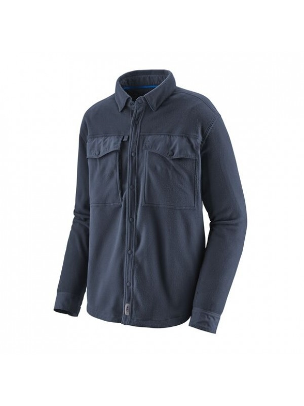 Patagonia Men's Long-Sleeved Early Rise Snap Shirt : New Navy