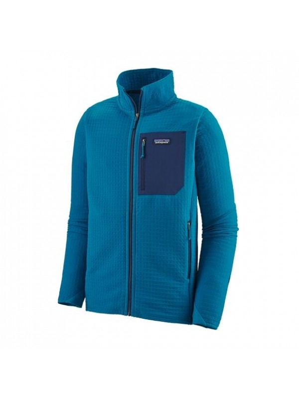 Patagonia Men's R2 TechFace Jacket : Balkan Blue