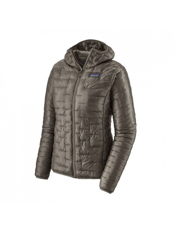 Patagonia Women's Micro Puff Hoody : Feather Grey