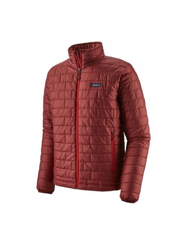 Patagonia Mens Nano Puff Jacket : Oxide Red