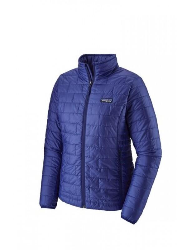 Patagonia Women's Nano Puff® Jacket: Cobalt Blue w Cobalt Blue