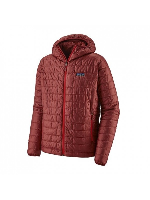 Patagonia Mens Nano Puff Hoody : Oxide Red