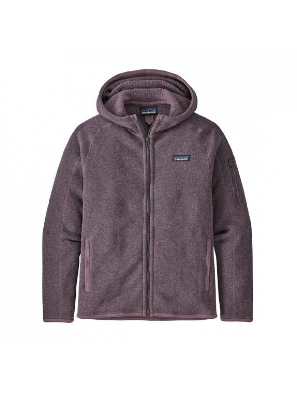 Patagonia Women's Better Sweater Fleece Hoody : Hyssop Purple