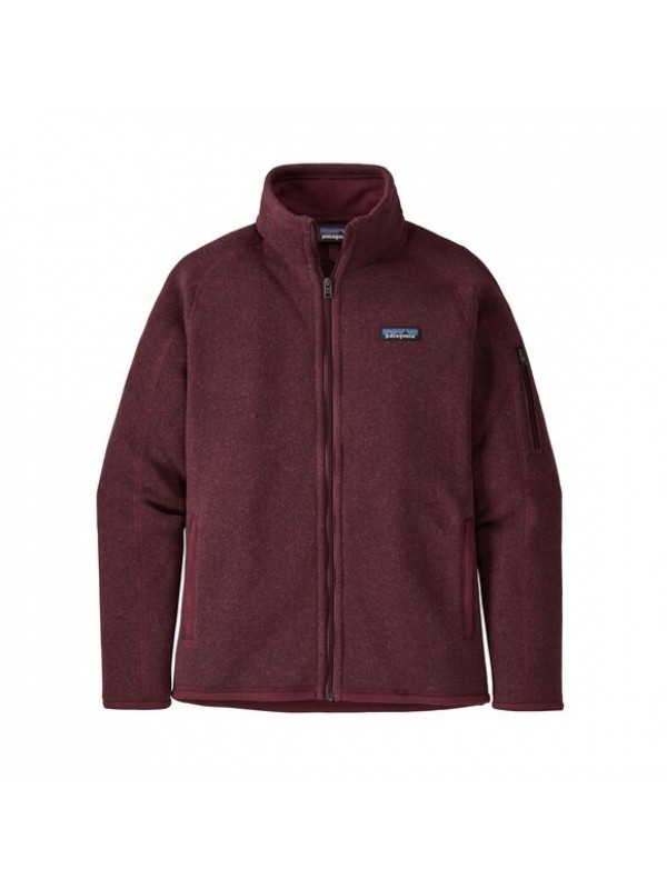 Patagonia Women's Better Sweater Fleece Jacket : Chicory Red