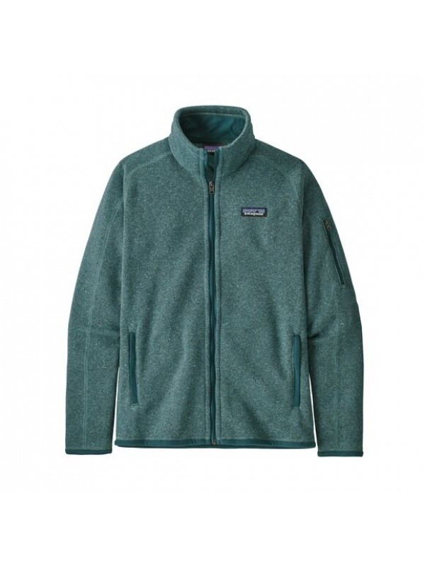 Patagonia Women's Better Sweater Fleece Jacket : Regent Green
