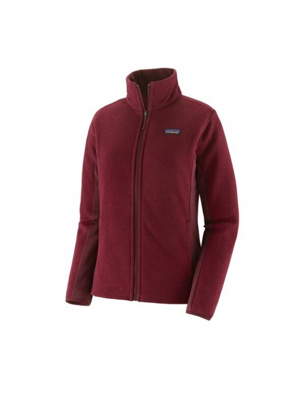 Patagonia Patagonia Women's Lightweight Better Sweater Fleece Jacket: Roamer Red