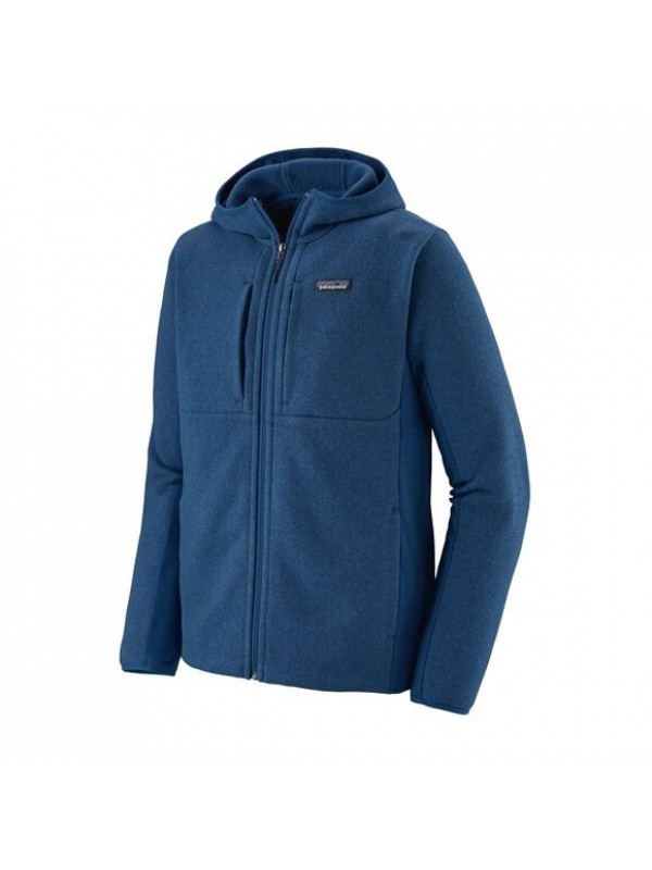 Patagonia Men's Lightweight Better Sweater Fleece Hoody : Superior Blue