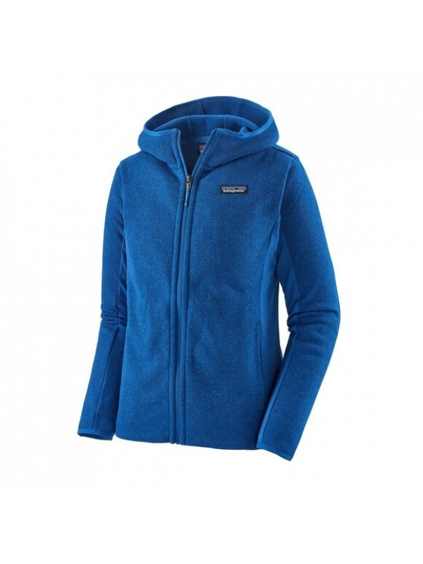 Patagonia Women's Lightweight Better Sweater Fleece Hoody : Alpine Blue