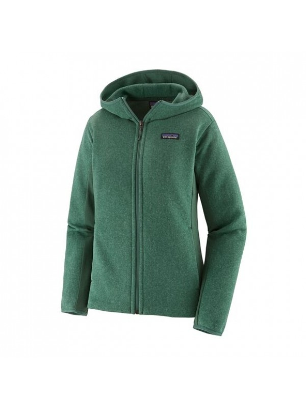 Patagonia Women's Lightweight Better Sweater Fleece Hoody : Regent Green
