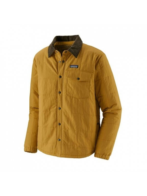 Patagonia Men's Isthmus Quilted Shirt Jacket : Buckwheat Gold