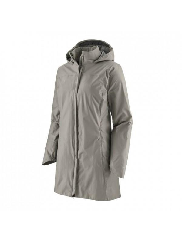 Patagonia Women's Torrentshell 3L City Coat : Salt Grey