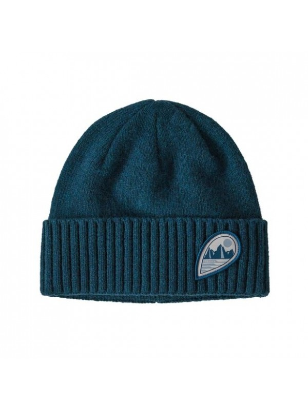 Patagonia Brodeo Beanie : Tube View: Crater Blue