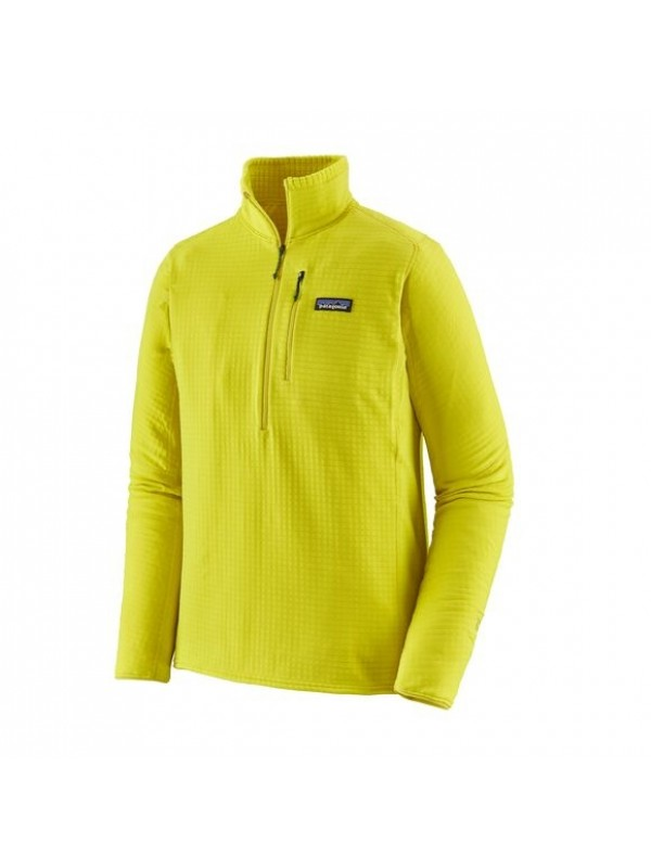 Patagonia Men's R1® Fleece Pullover : Chartreuse