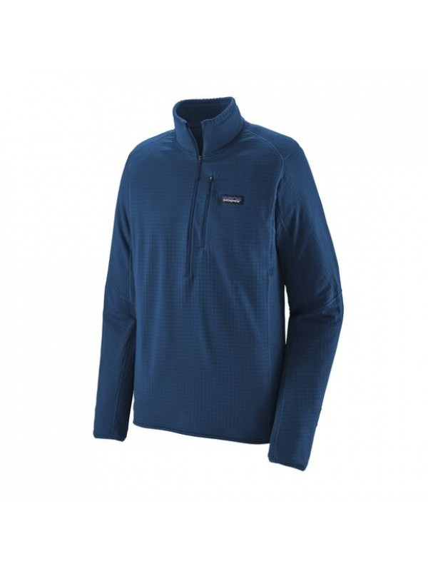 Patagonia Men's R1® Fleece Pullover : Superior Blue