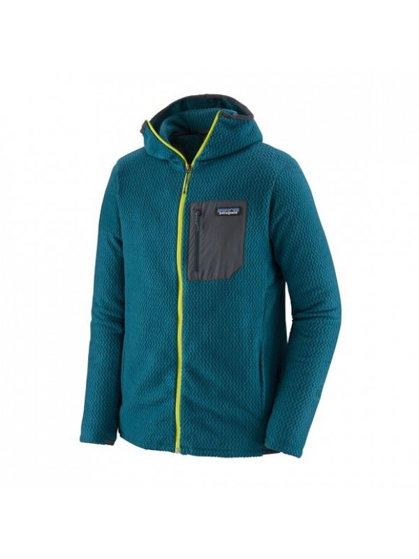 Patagonia Men's R1® Air Full-Zip Hoody : Crater Blue