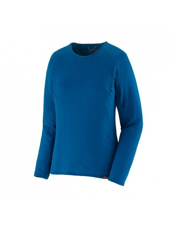 Patagonia Women's Capilene Thermal Weight Crew: Alpine Blue X-Dye