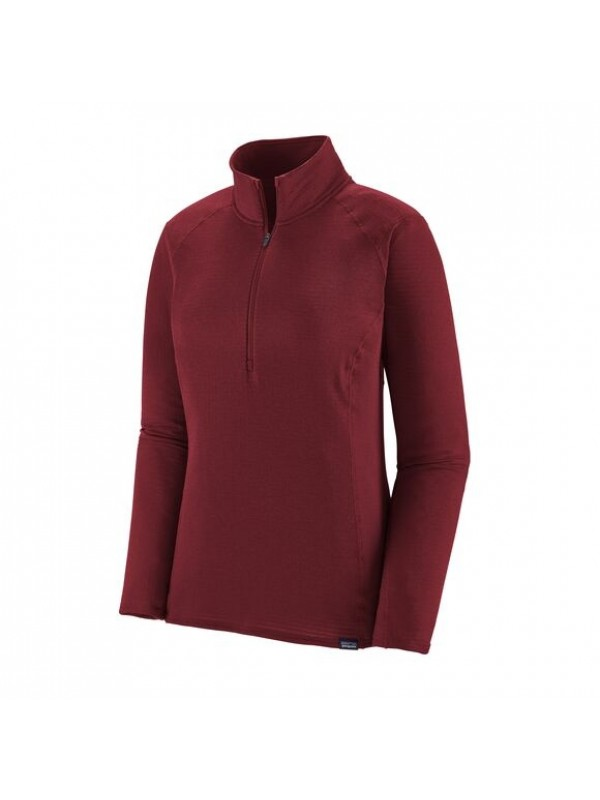 Patagonia Women's Capilene Thermal Weight Zip-Neck: Roamer Red X-Dye