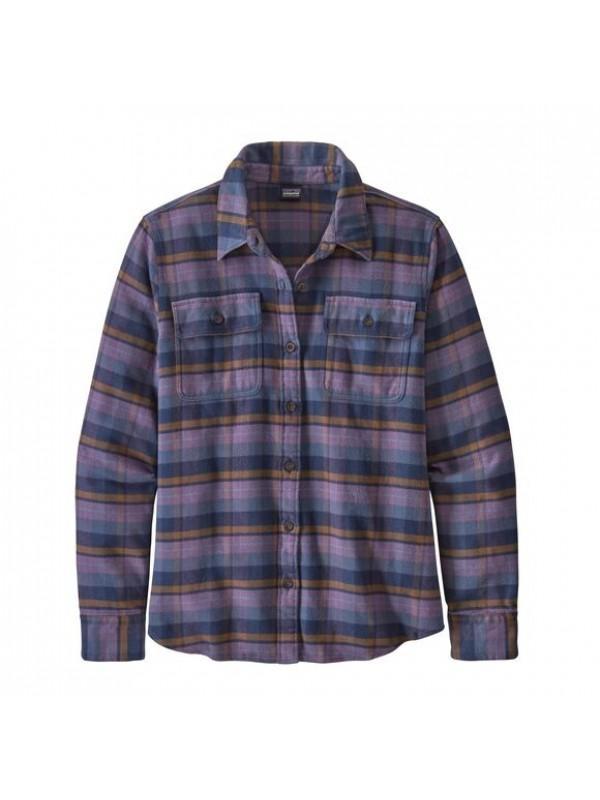 Patagonia Women's Fjord Flannel Shirt : Pistil: Hyssop Purple