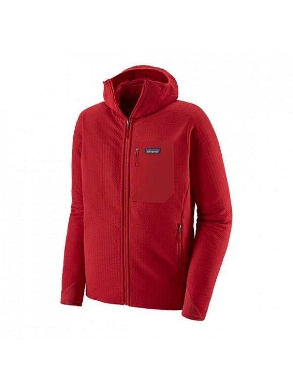 Patagonia Men's R2 TechFace Hoody : Classic Red