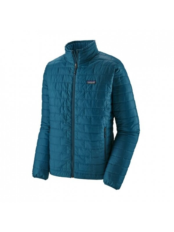 Patagonia Mens Nano Puff Jacket : Crater Blue