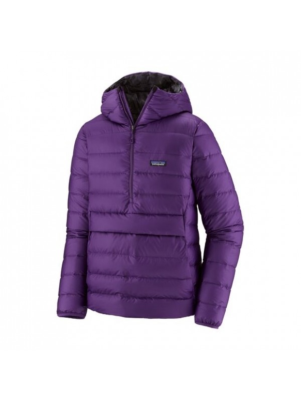 Patagonia Men's Down Sweater Hoody Pullover : Purple