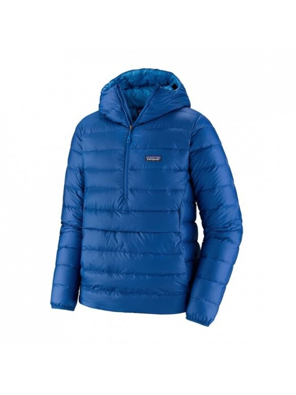 Patagonia Men's Down Sweater Hoody Pullover : Superior Blue