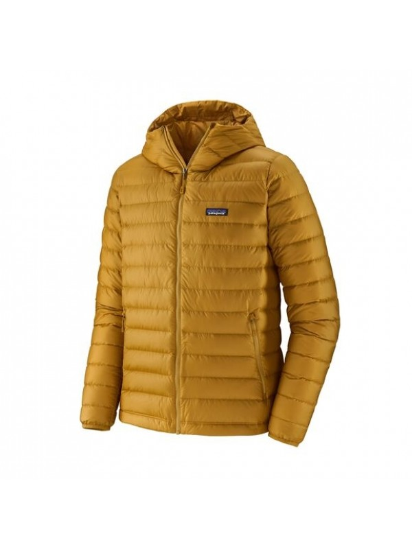 Patagonia Down Sweater Hoody : Buckwheat Gold