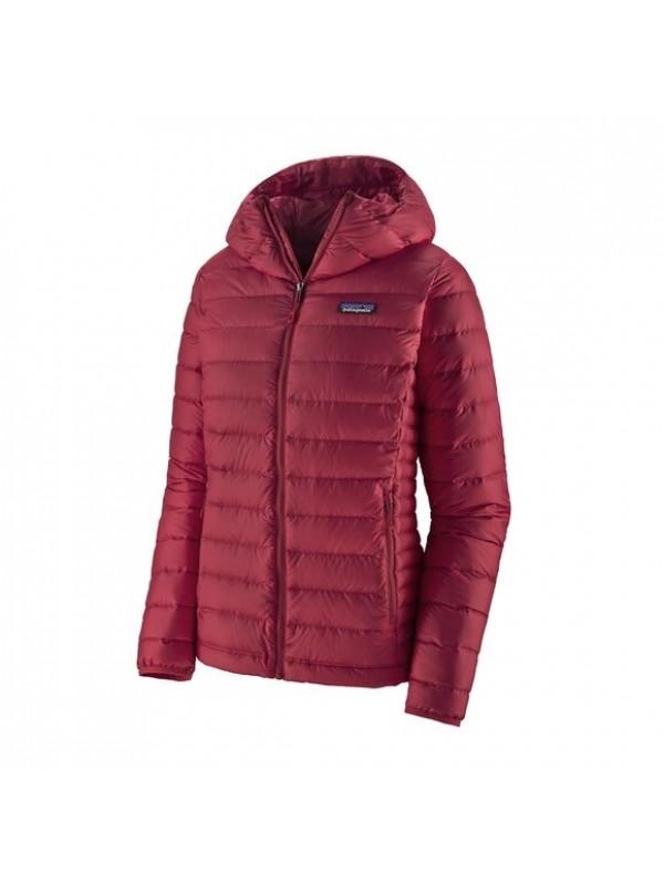 Patagonia Women's Down Sweater Hoody: Roamer Red