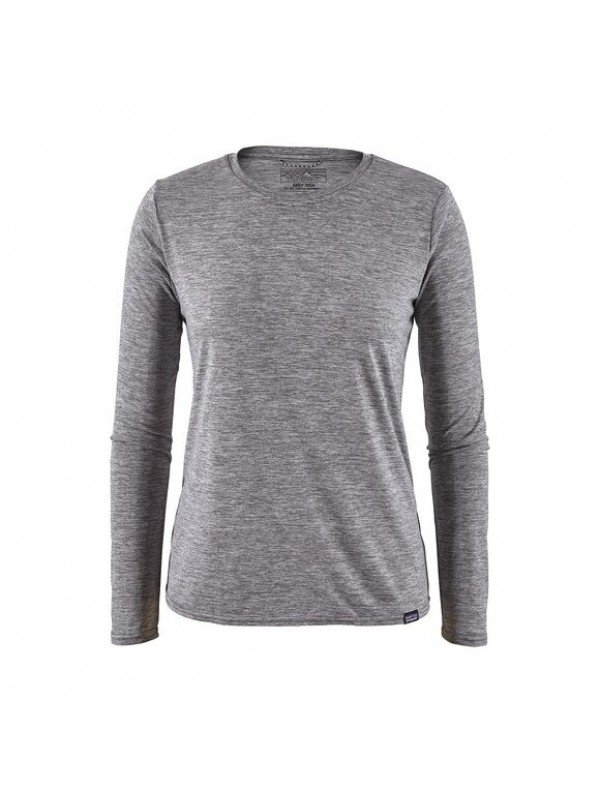 Patagonia Women's Long-Sleeved Capilene Cool Daily Shirt : Feather Grey