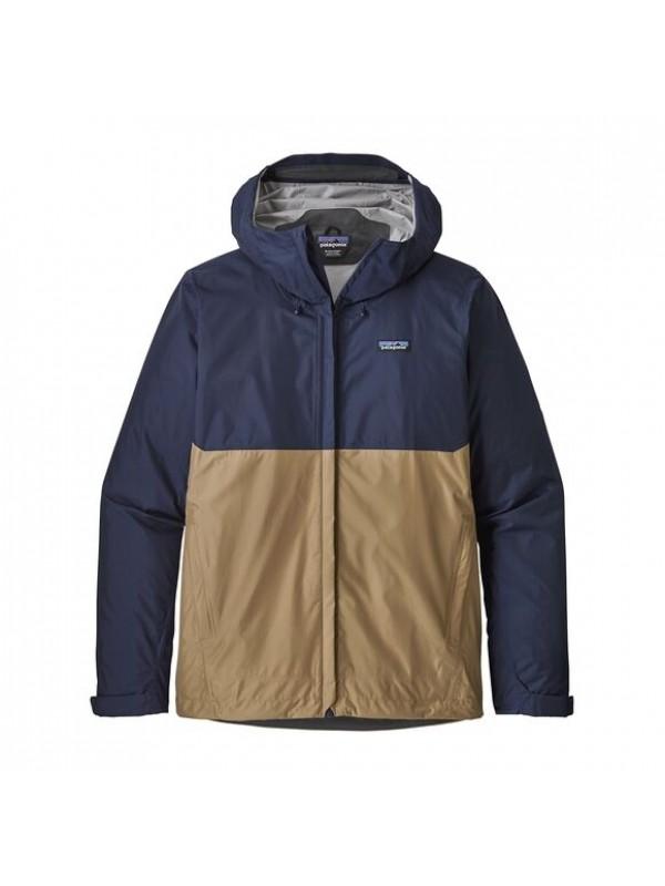 Patagonia Mens Torrentshell Jacket : Classic Navy w/Mojave Khaki
