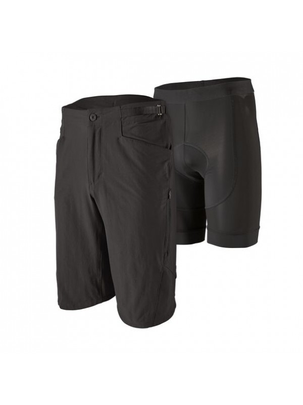 """Patagonia Men's Dirt Craft Bike Shorts - 11½"""" : Black"""