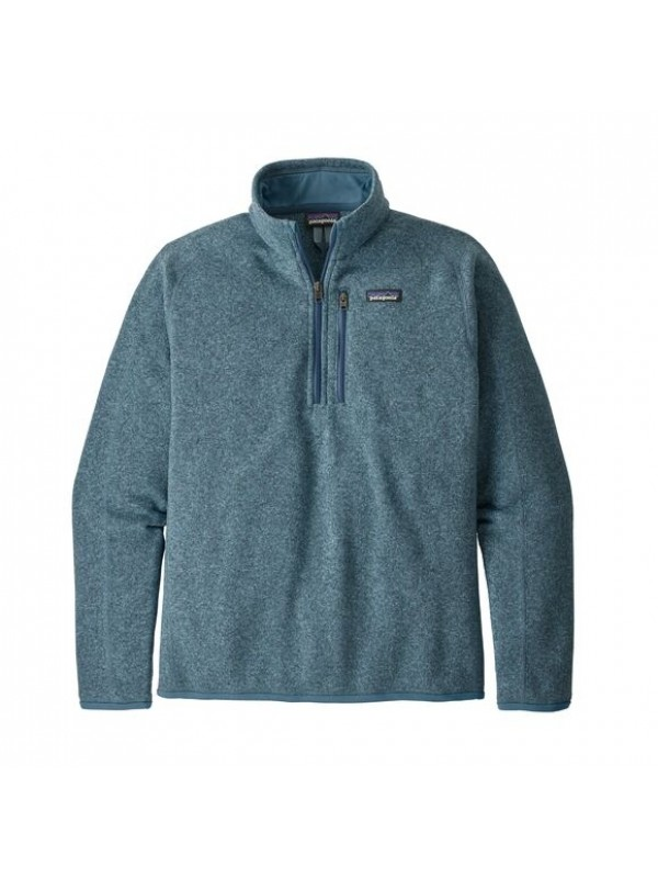 Patagonia Men's Better Sweater™ 1/4-Zip Fleece : Pigeon Blue